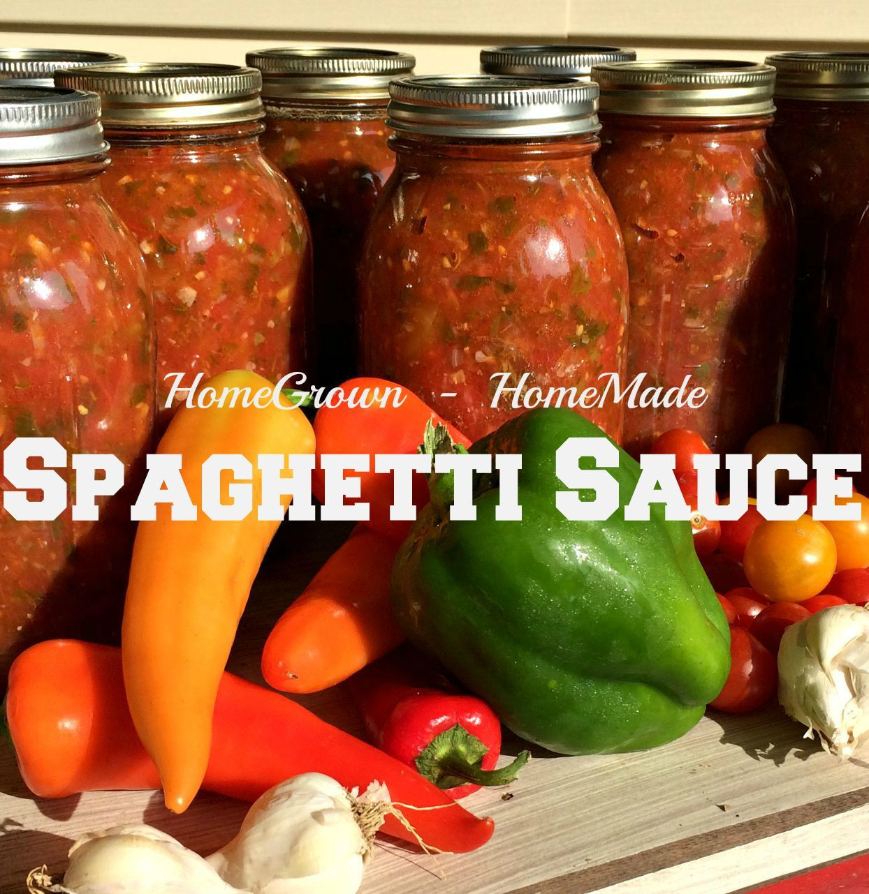 Pressure Canning Tomato Sauce  Make and Can Spaghetti Sauce – The Farm Barbie – Real