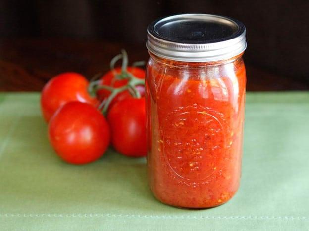 Pressure Canning Tomato Sauce  Basic Roasted Tomato Sauce Tori Avey