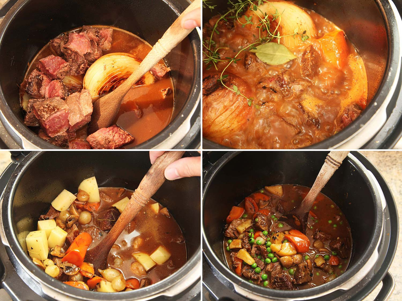 Pressure Cooker Beef Stew Recipe  electric pressure cooker beef stew