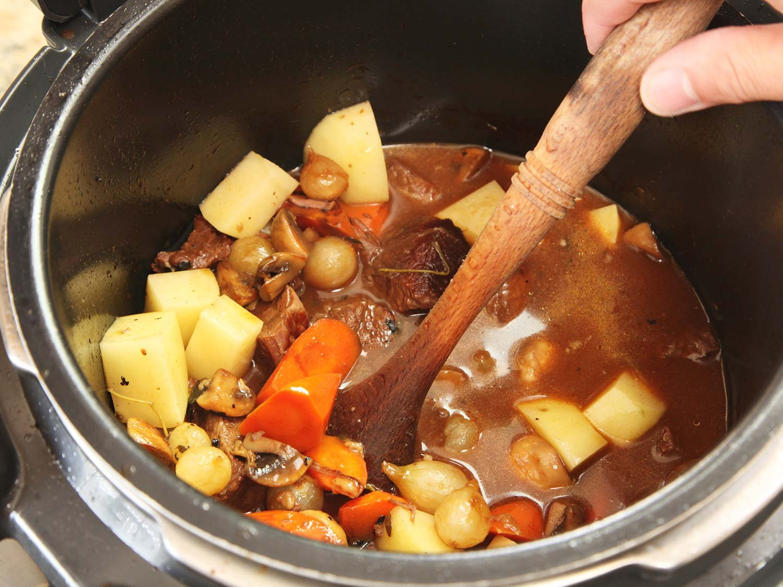 Pressure Cooker Beef Stew Recipe  Pressure Cooker American Beef Stew Recipe