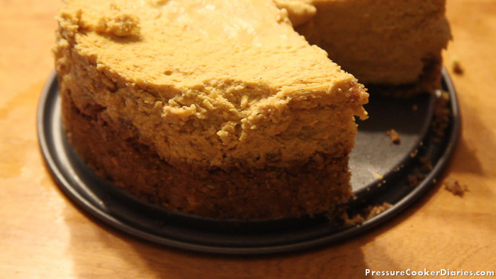 Pressure Cooker Dessert Recipes  Pumpkin Cheesecake Recipe – Pressure Cooker Pumpkin Cheesecake
