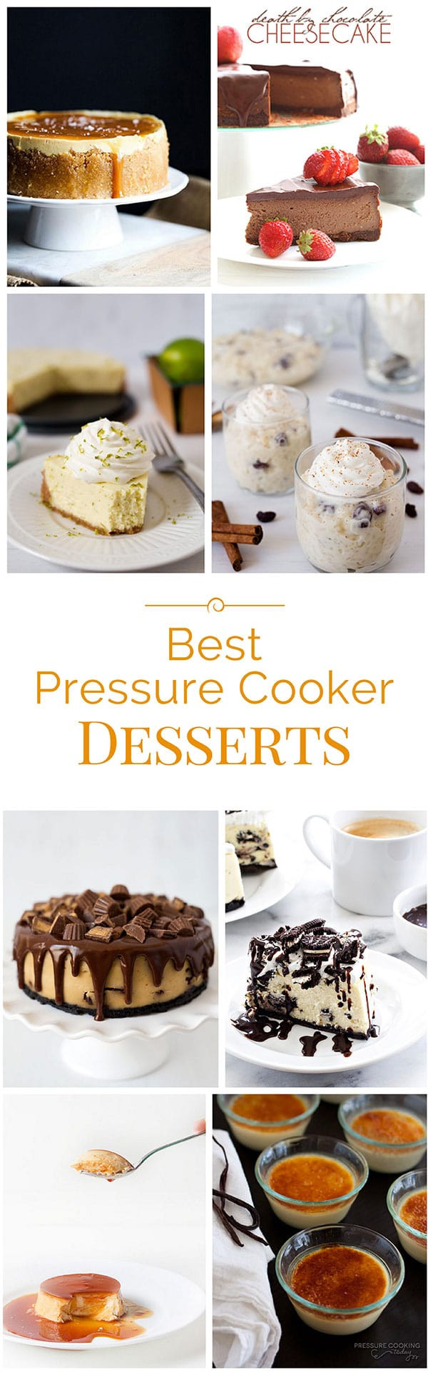 Pressure Cooker Dessert Recipes  Best Instant Pot Pressure Cooker Desserts Recipes
