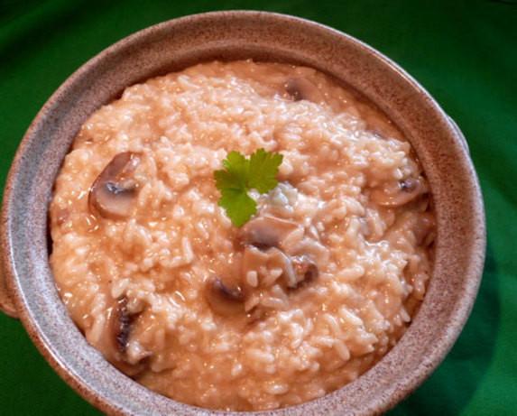 Pressure Cooker Mushroom Risotto  Mushroom Risotto In Pressure Cooker Recipe Food