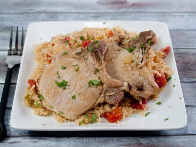 Pressure Cooker Pork Chops And Rice  Pressure Cooker Pork Chops and Rice Recipe