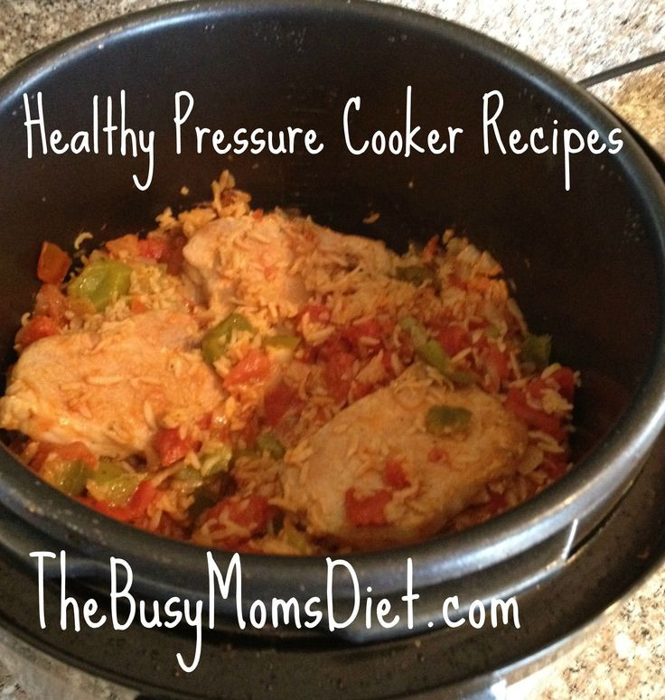 Pressure Cooker Pork Chops And Rice  Pork Chops with Brown Rice