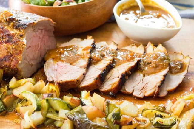 Pressure Cooker Pork Tenderloin  Pressure Cooker Pork Tenderloin SugarLoveSpices