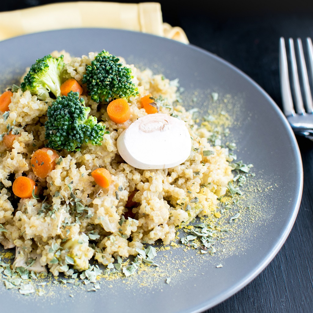 Pressure Cooker Quinoa  Pressure Cooker Vegan Cheese Ve able Quinoa and a Giveaway
