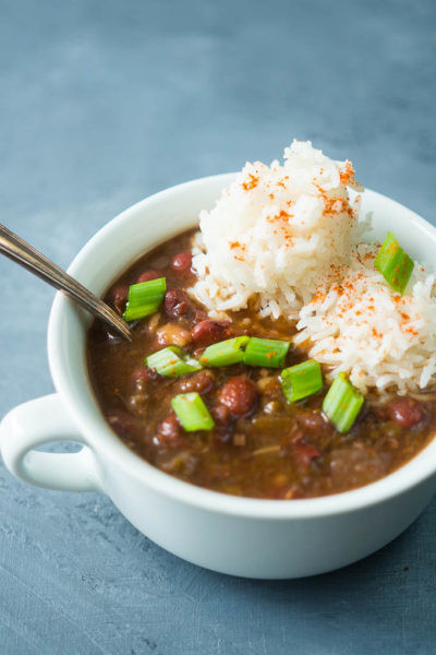 Pressure Cooker Red Beans And Rice  Kitschen Cat Cook with confidence Eat with joy