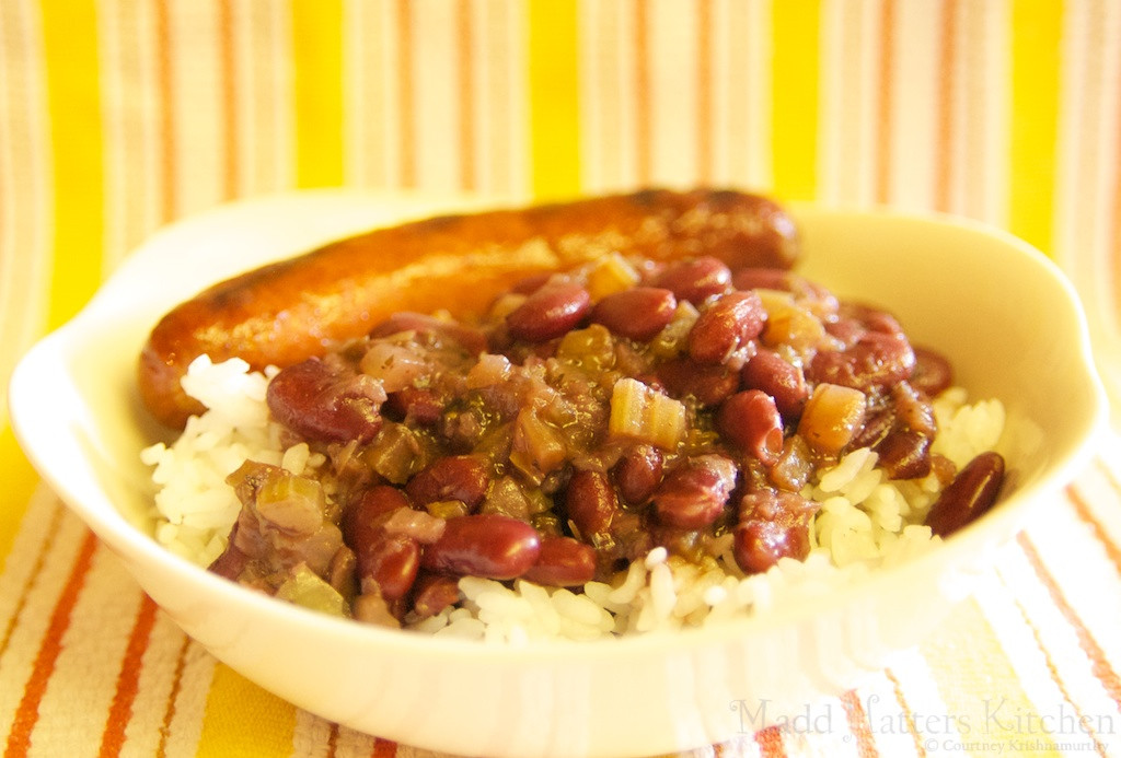 Pressure Cooker Red Beans And Rice  Madd Hatter s Kitchen The pressure cooker diaries Red
