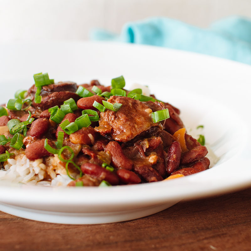 Pressure Cooker Red Beans And Rice  Pressure Cooker Red Beans and Rice FMITK From My