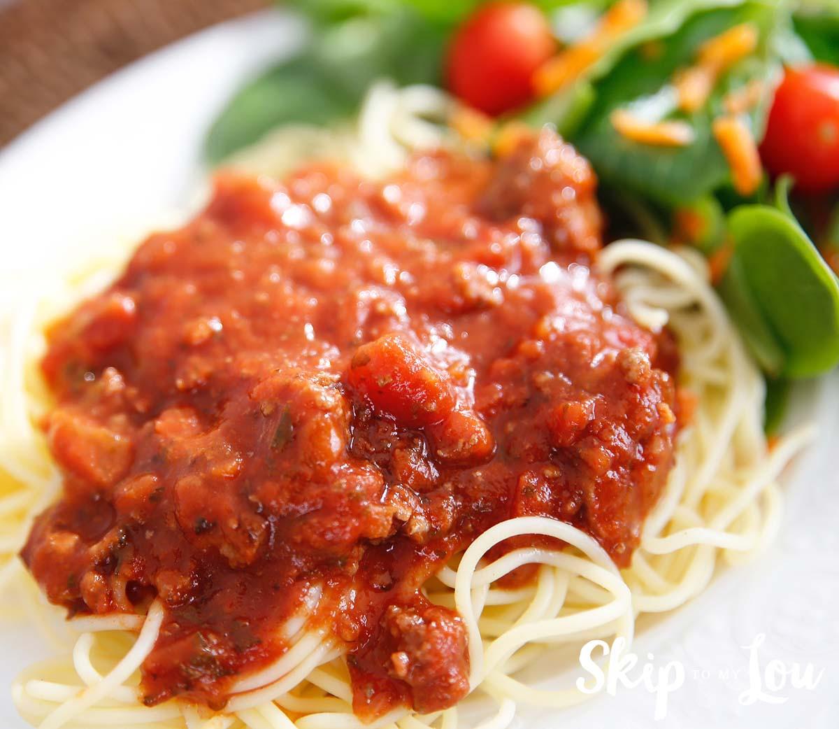 Pressure Cooker Spaghetti  Instant Pot Pressure Cooker Spaghetti Sauce