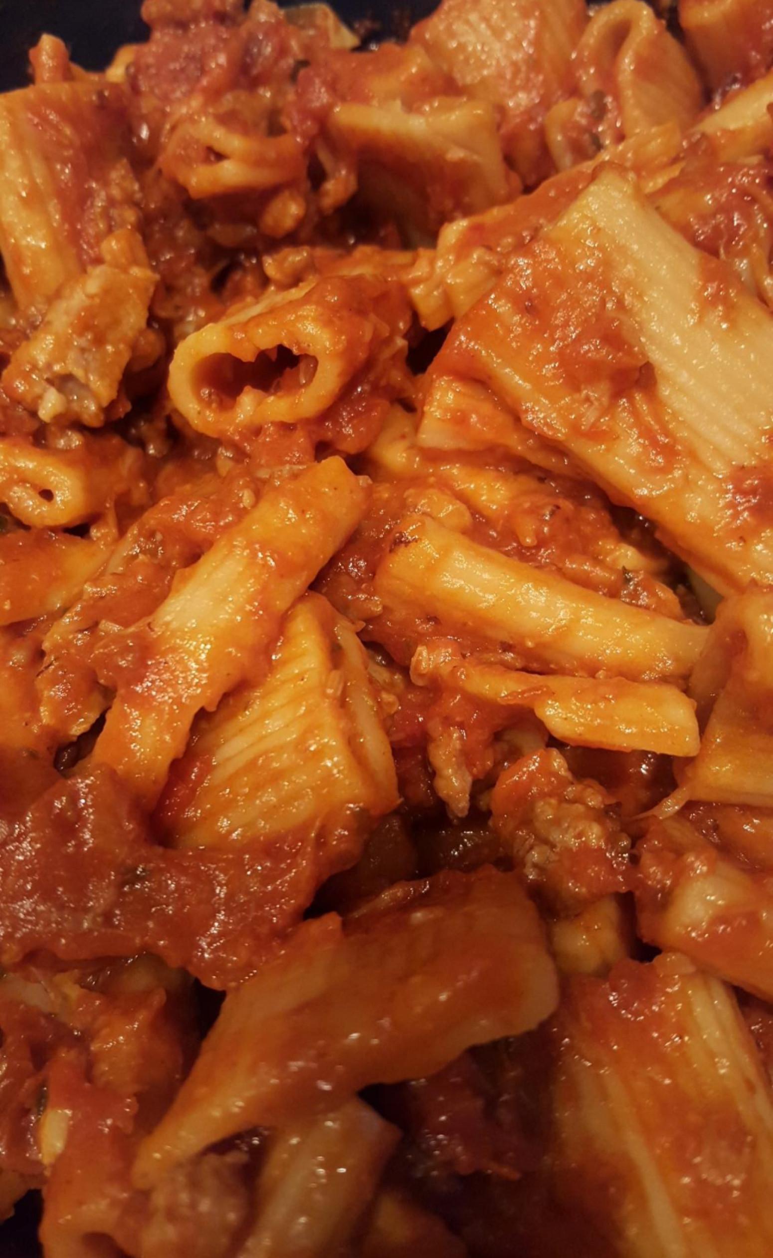 Pressure Cooker Spaghetti  Pressure Cooker Pasta Dinner Recipe