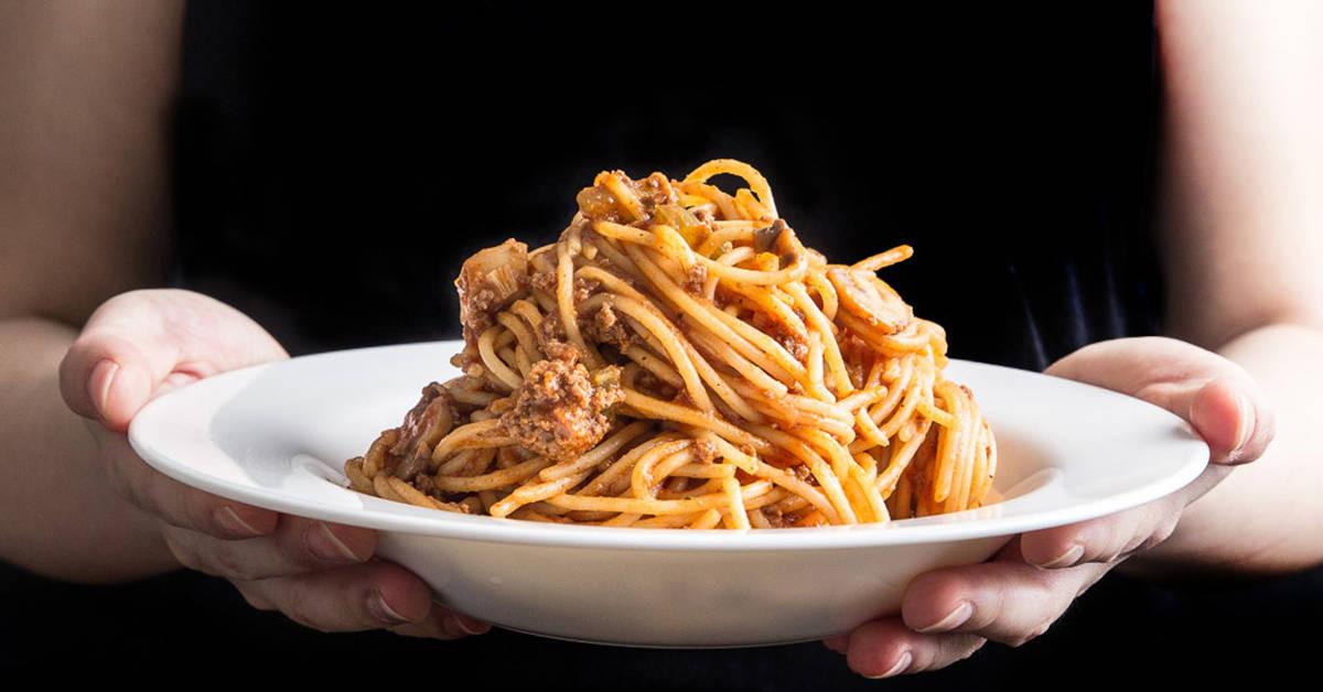 Pressure Cooker Spaghetti  Instant Pot Spaghetti Bolognese Recipe Pressure Cooker