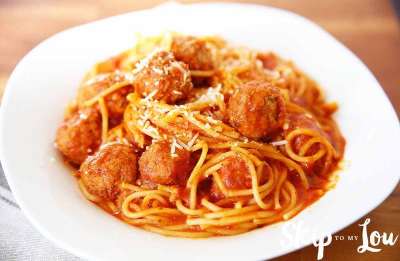 Pressure Cooker Spaghetti  Easy Pressure Cooker Spaghetti and Meatballs Recipe