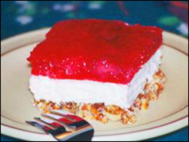 Pretzel Jello Dessert  Pretzel Jello Dessert Recipe Food