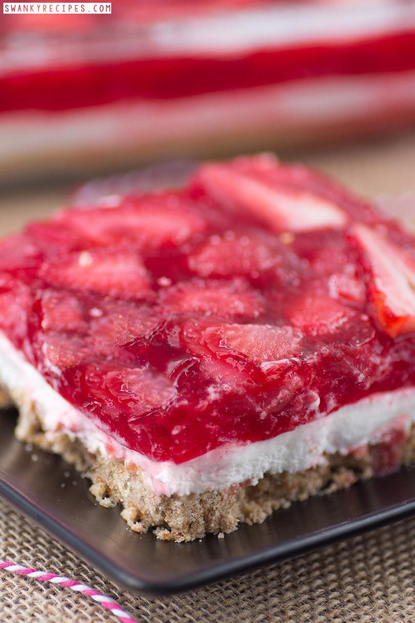 Pretzel Jello Dessert  30 Best 4th of July Recipes Swanky Recipes