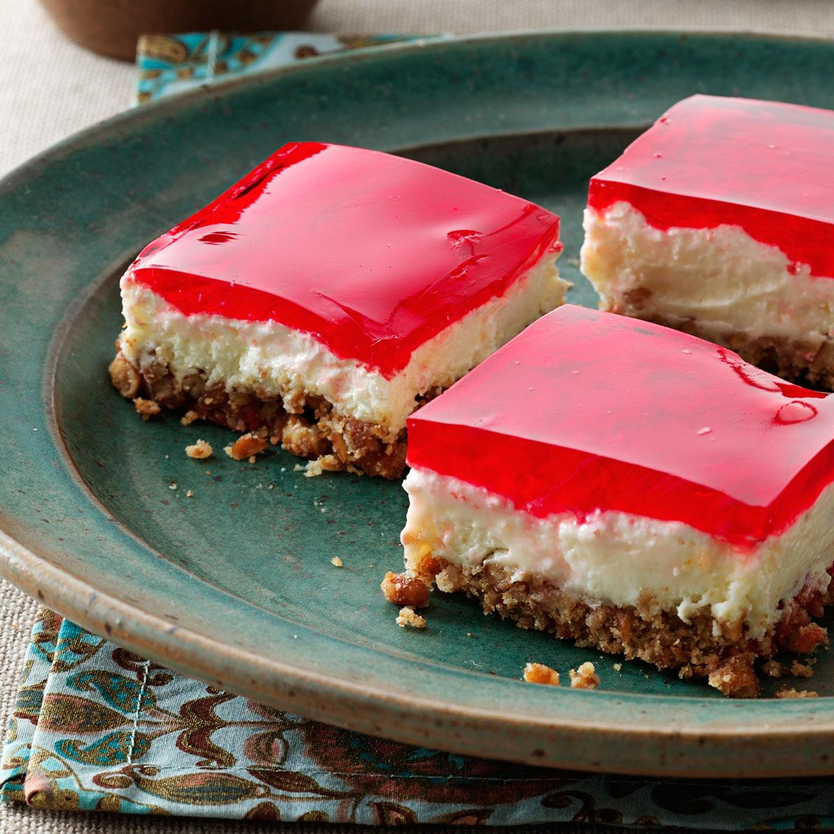 Pretzel Jello Dessert  Pretzel Jell O Dessert Recipe