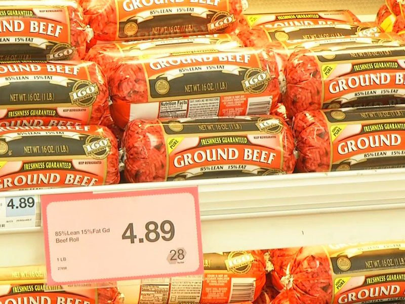 Price Of Ground Beef  ground beef walmart price