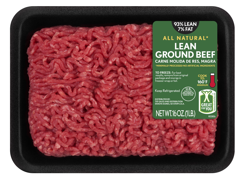 Price Of Ground Beef  Lean Fat Lean Ground Beef 1 lb Walmart