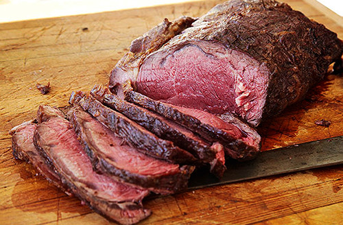 Prime Rib On The Grill  Bison Recipes Grill Roasted Whole Boneless Bison Prime