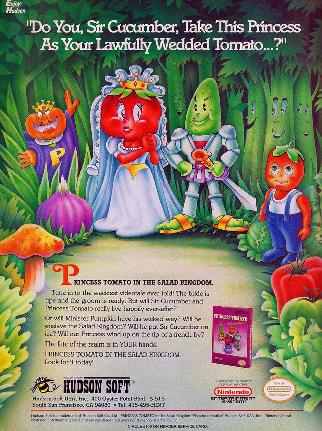 Princess Tomato In The Salad Kingdom  Princess Tomato in the Salad Kingdom Download Game