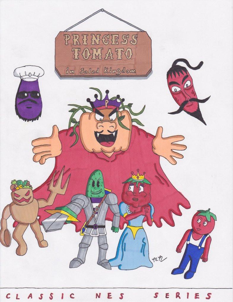Princess Tomato In The Salad Kingdom  Classic NES Series Princess Tomato n Salad Kingdom by