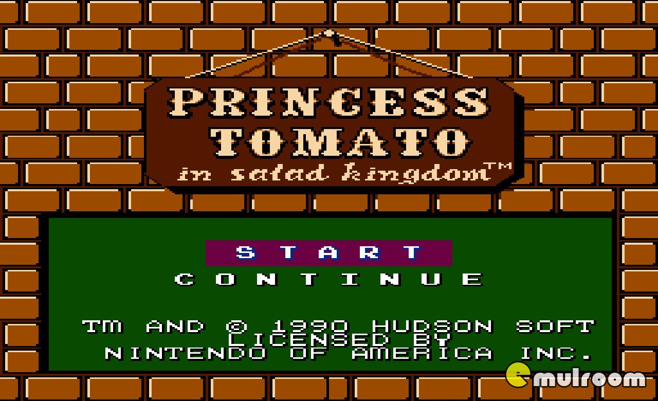 Princess Tomato In The Salad Kingdom  Денди игры Princess Tomato in the Salad Kingdom Скачать