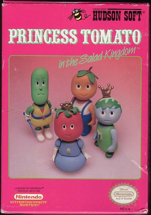 Princess Tomato In The Salad Kingdom  NintendoAge Princess Tomato in the Salad Kingdom