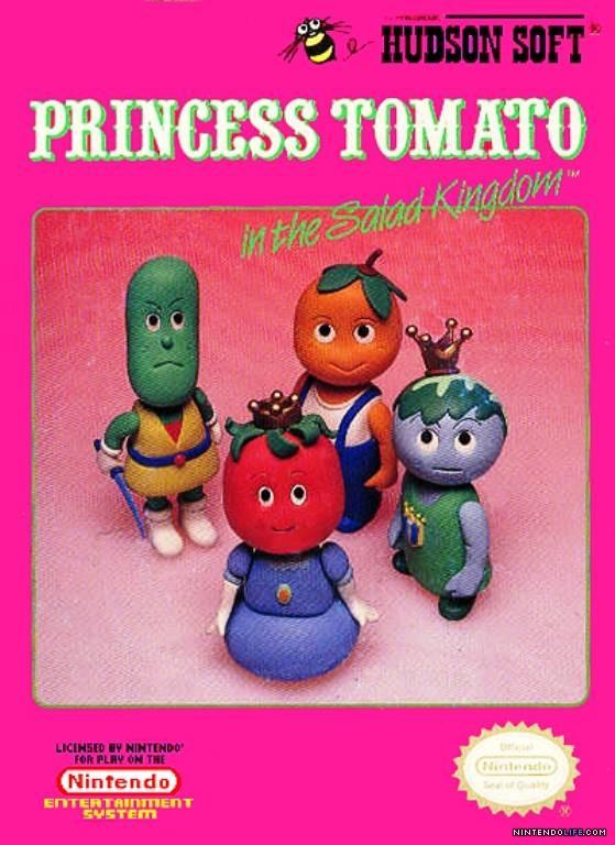 Princess Tomato In The Salad Kingdom  Princess Tomato in the Salad Kingdom Review NES