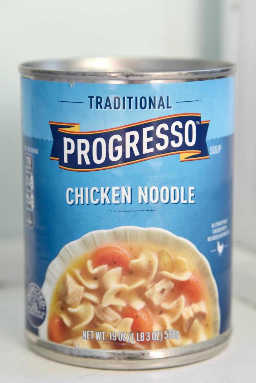 Progresso Chicken Noodle Soup  Chicken Noodle Soup Kolache Recipe amomsimpression