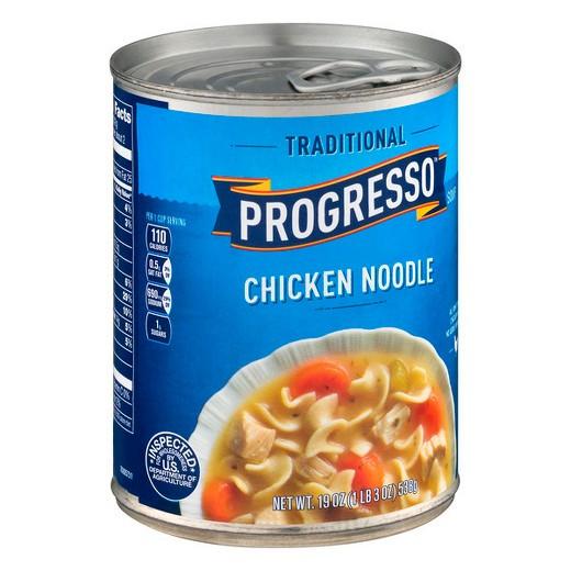 Progresso Chicken Noodle Soup  Progresso Traditional Chicken Noodle Soup 19 oz Tar