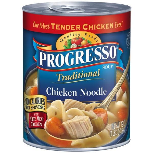 Progresso Chicken Noodle Soup  Progresso Chicken Noodle 538g USA Foods