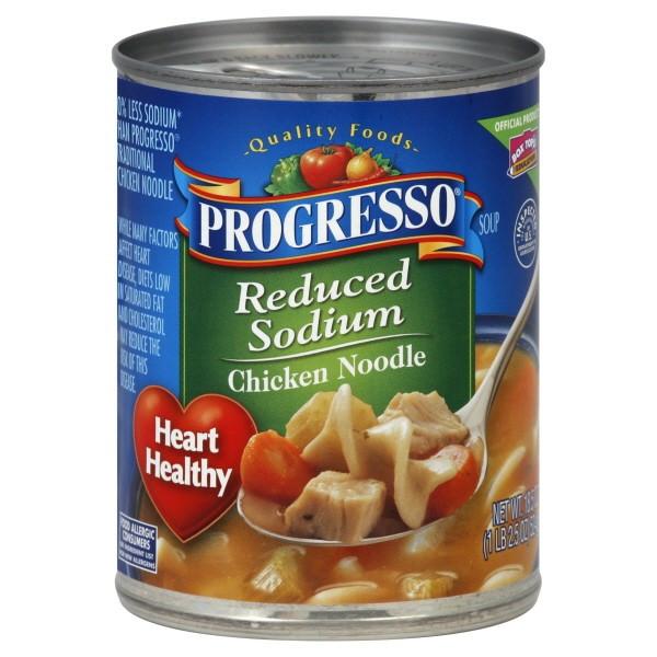 Progresso Chicken Noodle Soup  Progresso Soup Chicken Noodle Reduced Sodium