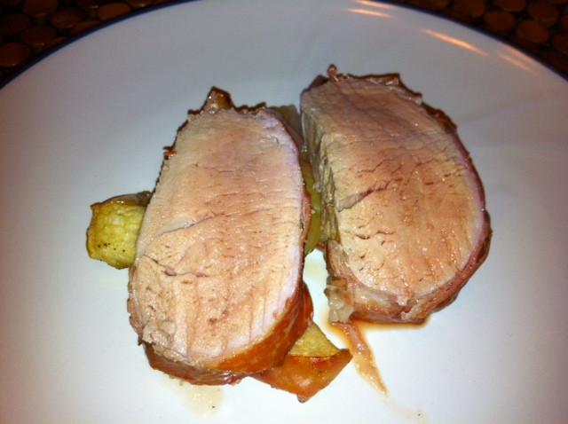 Prosciutto Wrapped Pork Tenderloin  Woman s Day Prosciutto Wrapped Pork Tenderloin and Thyme