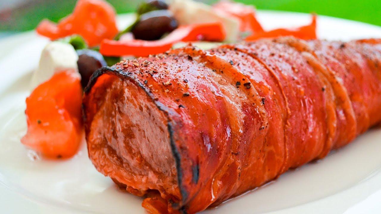 Prosciutto Wrapped Pork Tenderloin  Prosciutto Wrapped Pork Tenderloin Recipe Video