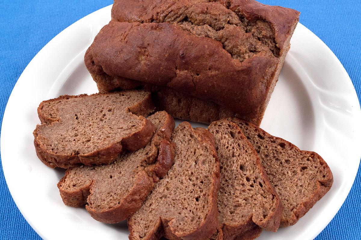Protein Banana Bread  Protein Banana Bread Healthy Course Meals