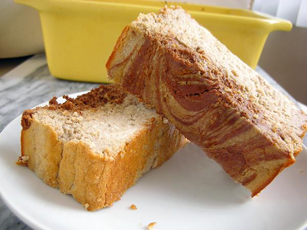 Protein Banana Bread  Cinnamon Swirl Banana Protein Bread Now You're Cookin'