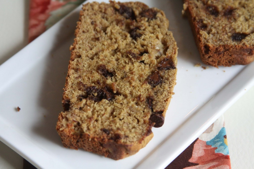 Protein Banana Bread  Higher Protein Chocolate Chip Banana Bread Espresso and
