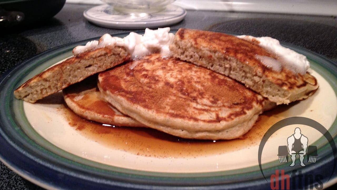 Protein Banana Pancakes  PROTEIN Banana Pancakes GREAT plex Carbs Fiber 49g
