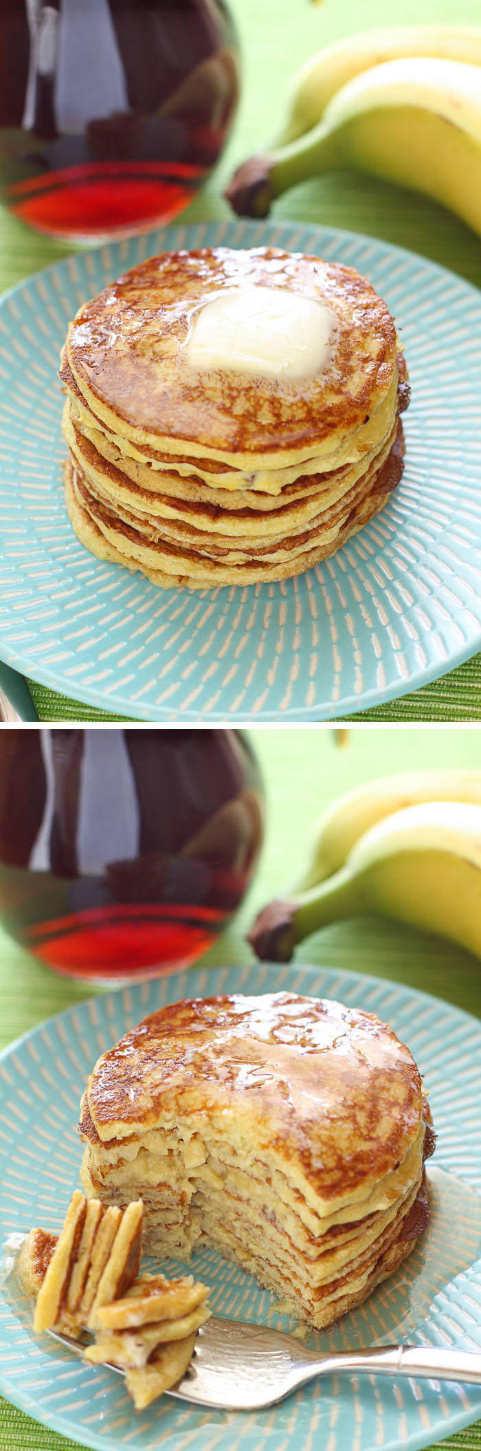 Protein Banana Pancakes  Four Ingre nt Protein Pancakes and 16 other simple