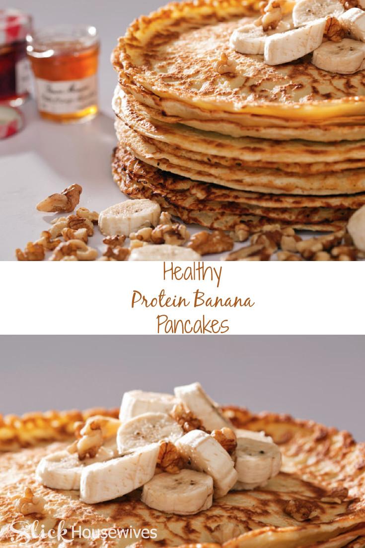Protein Banana Pancakes  Healthy Protein Banana Pancakes Recipe