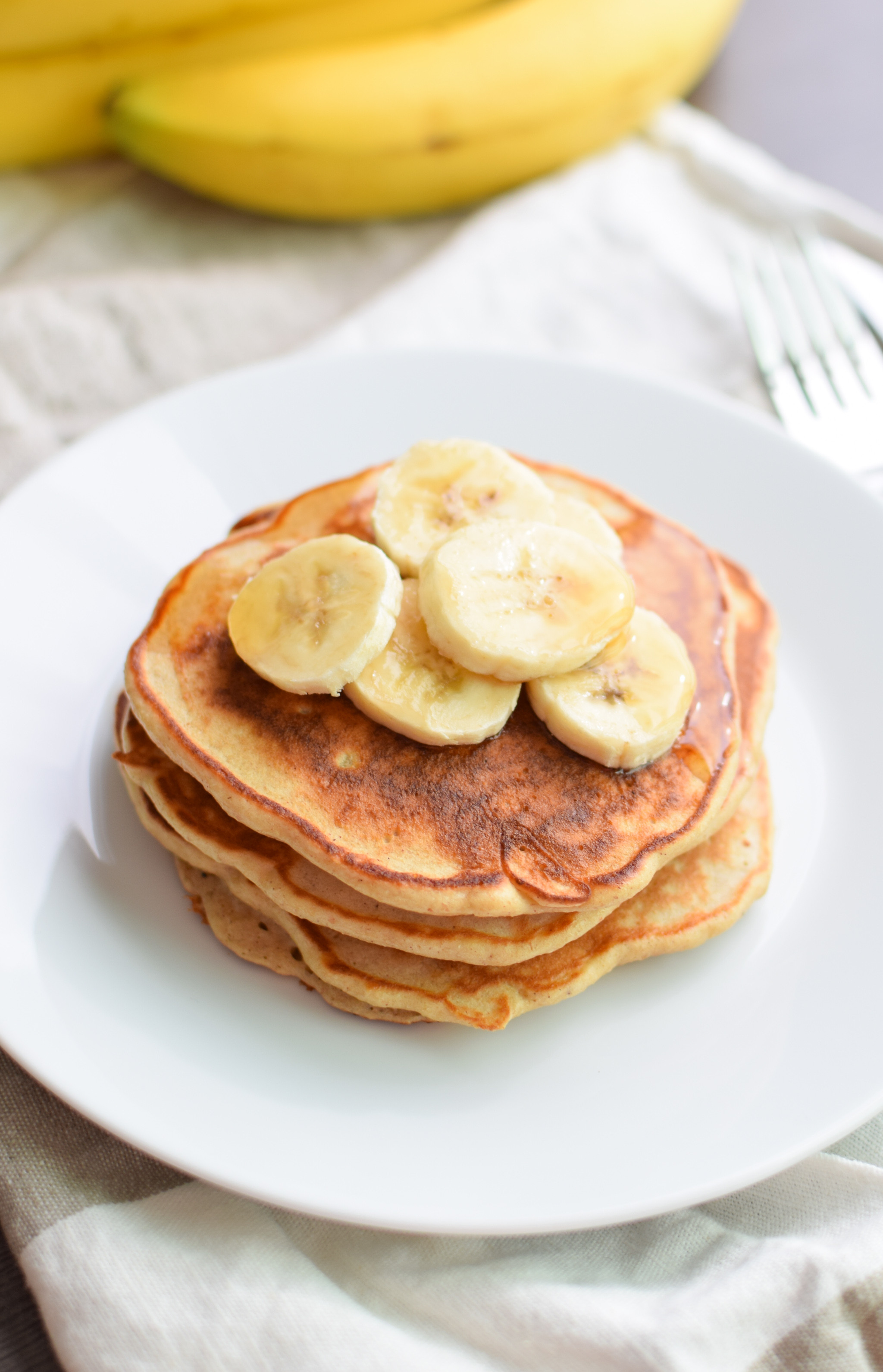 Protein Banana Pancakes  Banana Protein Pancakes from Project Meal Plan