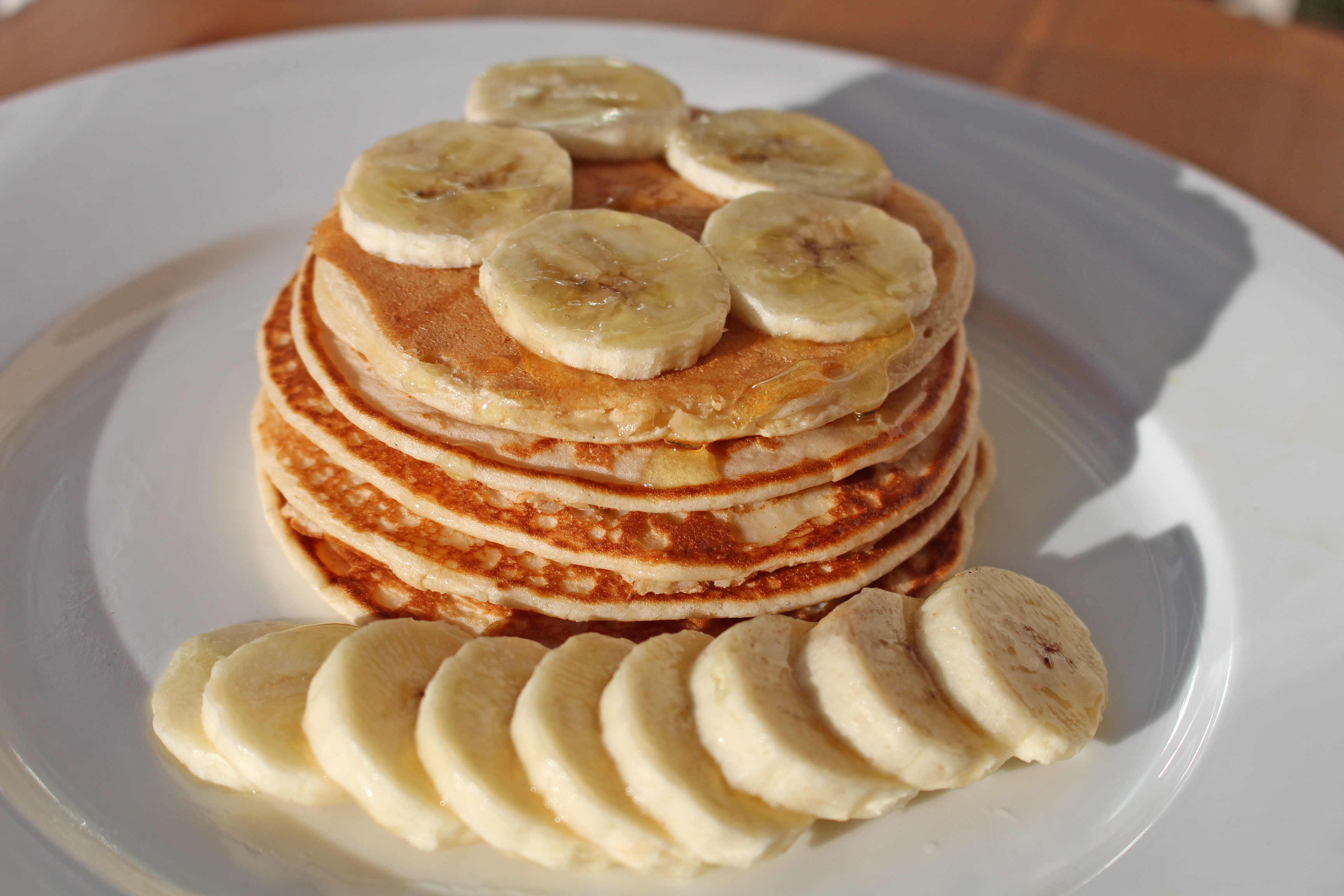 Protein Banana Pancakes  3 HEALTHY PANCAKE RECIPES FOR MUMS Lean Mums