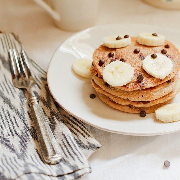 Protein Banana Pancakes  Banana Protein Pancakes