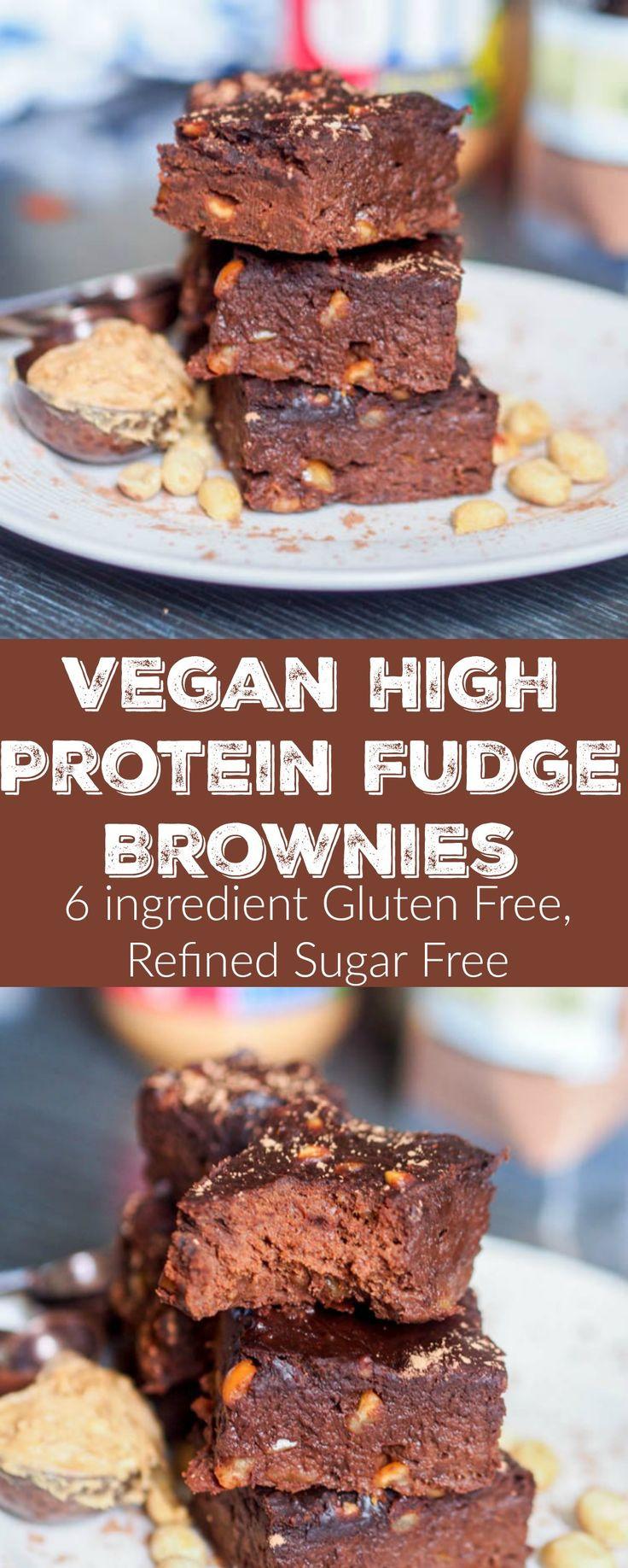 Protein Desserts Recipe  100 High Protein Vegan Recipes on Pinterest