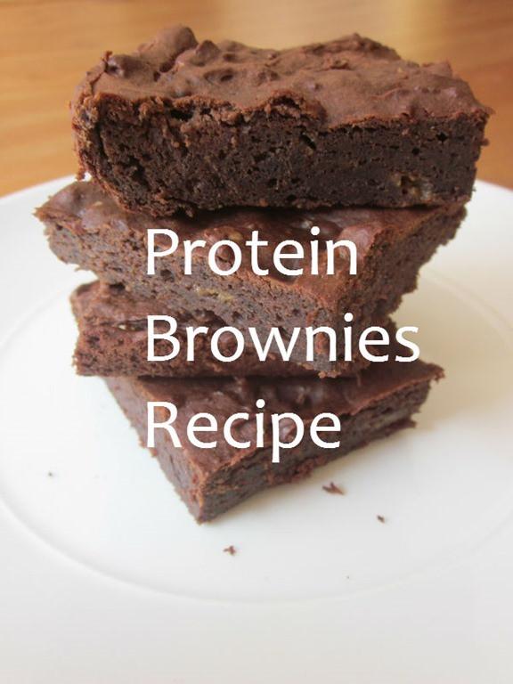 Protein Desserts Recipe  Protein Brownies Recipe