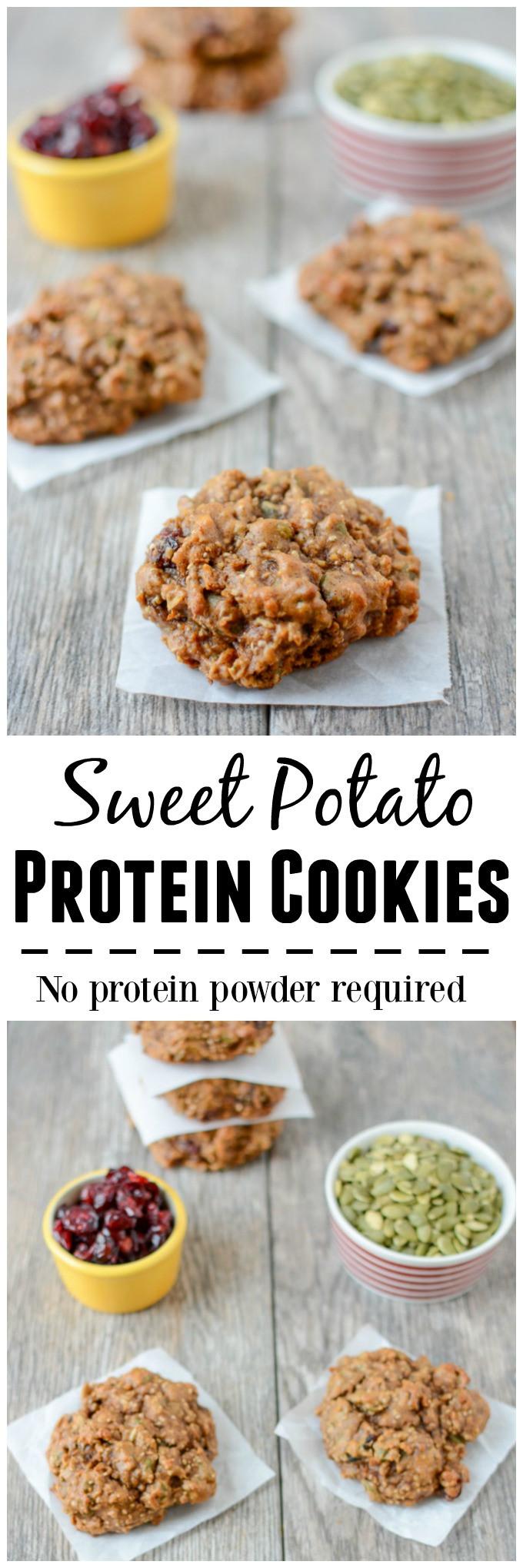 Protein In Potato  Sweet Potato Protein Cookies
