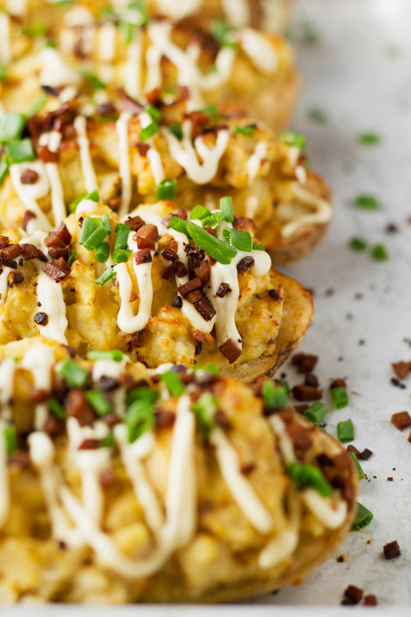 Protein In Potato  Protein Packed Twice Baked Potatoes V GF
