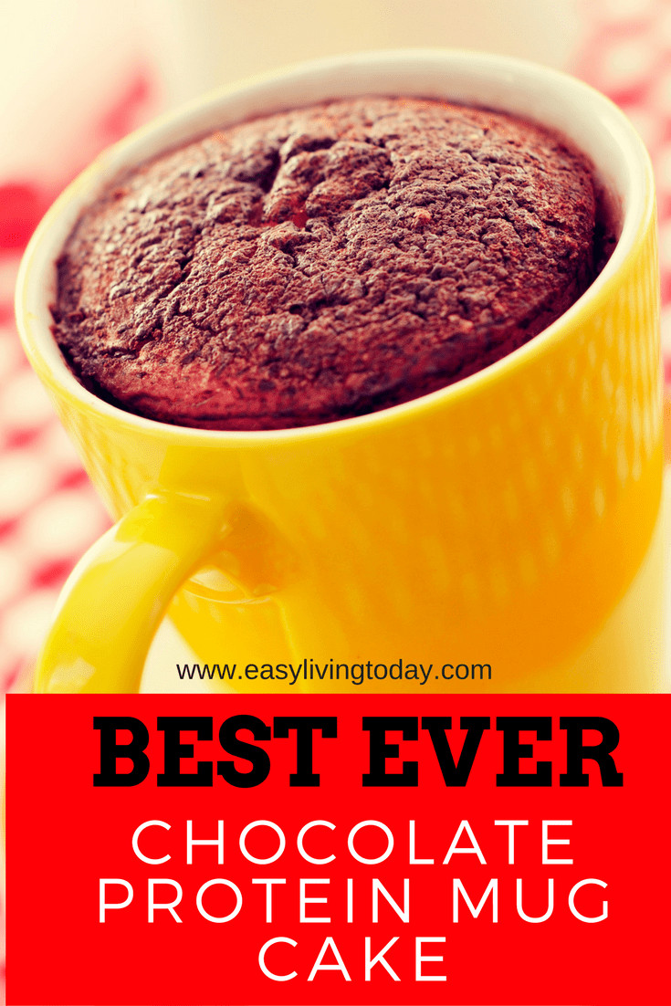 Protein Powder Mug Cake  Best Ever Chocolate Protein Powder Mug Cake Recipe for