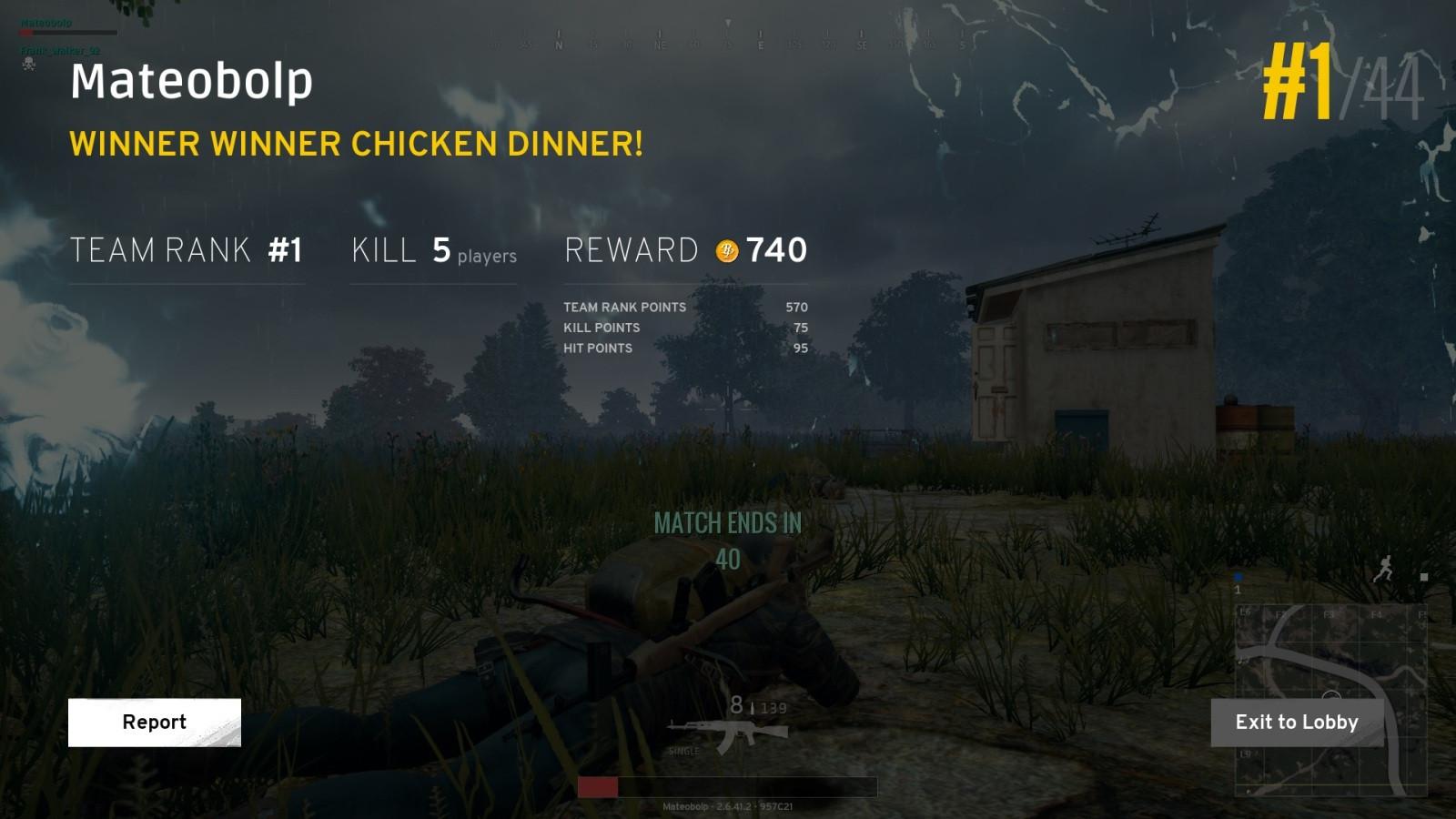 Pubg Chicken Dinner  Chicken dinner PUBG
